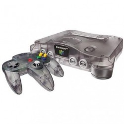 Nintendo 64 Funtastic Clear Black