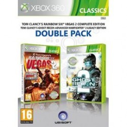 Tom Clancy's Rainbow Six Vegas 2 + Tom Clancy's Ghost Recon Advanced Warfighter 2