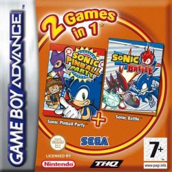 2 Games in 1 Sonic Pinball Party + Sonic Battle